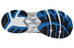 Asics Men's Gel 1170 white black true blue